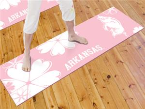 Fan Mats University of Arkansas Yoga Mat