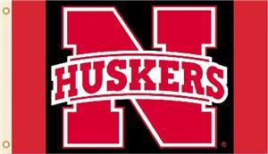 COLLEGIATE Nebraska Cornhuskers 3' x 5' Flag