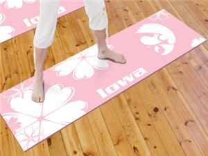 Fan Mats University of Iowa Yoga Mat