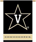 "COLLEGIATE Vanderbilt 2-Sided 28"" x 40"" Banner"
