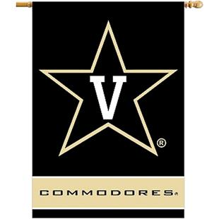"COLLEGIATE Vanderbilt 2-Sided 28"" x 40"" Banner"