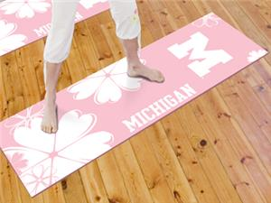 Fan Mats University of Michigan Yoga Mat