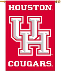"COLLEGIATE Houston Cougars 2-Sided 28""x40"" Banner"