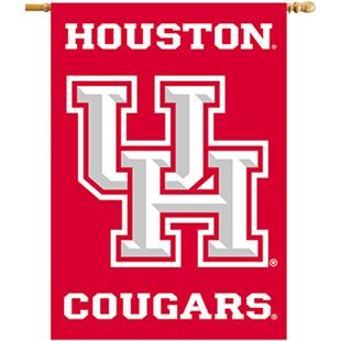 """COLLEGIATE Houston Cougars 2-Sided 28""""x40"""" Banners"""