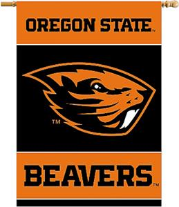 "COLLEGIATE Oregon State 2-Sided 28"" x 40"" Banner"