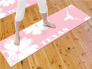 Fan Mats University of Texas Yoga Mat