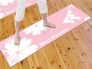 Fan Mats West Virginia University Yoga Mat