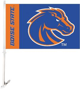 "COLLEGIATE Boise State 2-Sided 11"" x 18"" Car Flags"