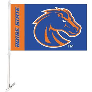 """COLLEGIATE Boise State 2-Sided 11"""" x 18"""" Car Flags"""