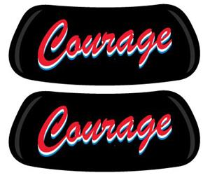 Courage EYEBLACK Strips