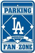 MLB Los Angeles Dodgers Plastic Parking Sign