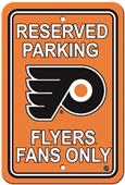 BSI NHL Philadelphia Flyers Plastic Parking Sign