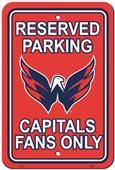 BSI NHL Washington Capitals Plastic Parking Sign