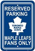 BSI NHL Toronto Maple Leafs Plastic Parking Sign