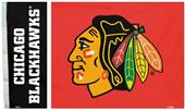 BSI NHL Chicago Blackhawks 3' x 5' Flag w/Grommets