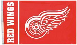 BSI NHL Detroit Red Wings 3' x 5' Flag w/Grommets