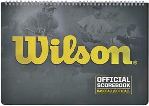 Wilson WTA3753 Baseball/Softball Spiral Scorebooks
