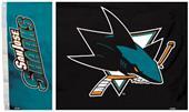 BSI NHL San Jose Sharks 3' x 5' Flag w/Grommets