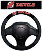 BSI NHL New Jersey Devils Steering Wheel Cover