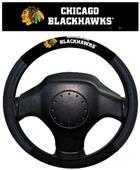 BSI NHL Chicago Blackhawks Steering Wheel Cover