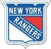 """BSI NHL New York Rangers 12"""" Vinyl Magnet"""