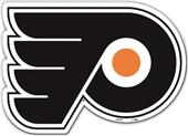 """BSI NHL Philadelphia Flyers 12"""" Vinyl Magnet"""