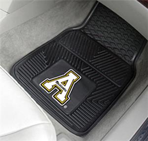 Fan Mats Appalachian State 2-Piece Vinyl Car Mats