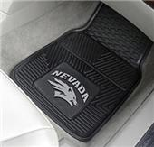 Fan Mats Univ. of Nevada Vinyl Car Mats (set)