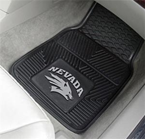 Fan Mats Univ. of Nevada 2-Piece Vinyl Car Mats
