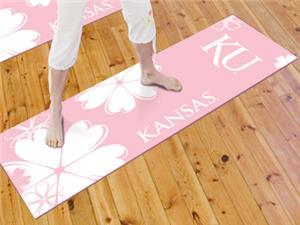Fan Mats University of Kansas Yoga Mat