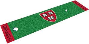 Fan Mats Harvard University Putting Green Mat