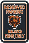 BSI NFL Chicago Bears Reserved Parking Sign