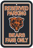 BSI NFL Chicago Bears Reserved Parking Sign