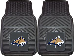 Fan Mats Montana State University 2-Piece Car Mats