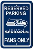 BSI NFL Seattle Seahawks Reserved Parking Sign