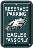 BSI NFL Philadelphia Eagles Reserved Parking Sign
