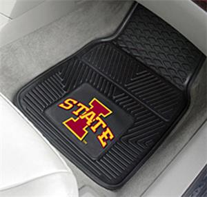 Fan Mats Iowa State University 2-Piece Car Mats
