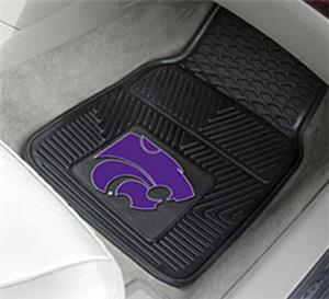 Fan Mats Kansas State University 2-Piece Car Mats