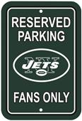 BSI NFL New York Jets Reserved Parking Sign