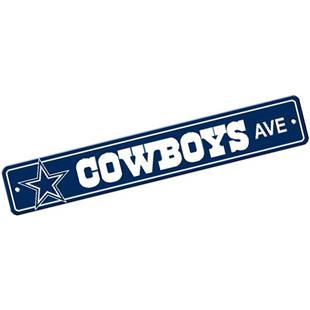 BSI NFL Dallas Cowboys Plastic Street Sign