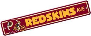 BSI NFL Washington Redskins Plastic Street Sign