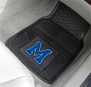 Fan Mats University of Memphis 2-Piece Car Mats