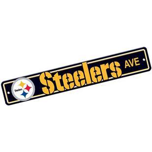 BSI NFL Pittsburgh Steelers Plastic Street Sign