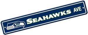 BSI NFL Seattle Seahawks Plastic Street Sign