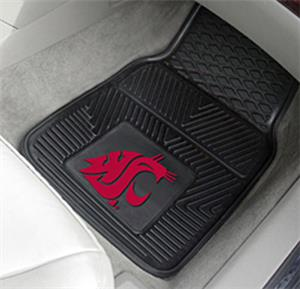 Fan Mats Washington State Univ. 2-Piece Car Mats