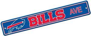 BSI NFL Buffalo Bills Plastic Street Sign
