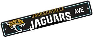 BSI NFL Jacksonville Jaguars Plastic Street Sign