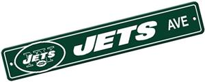 BSI NFL New York Jets Plastic Street Sign
