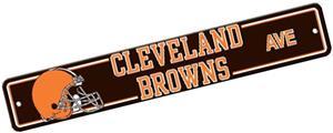 BSI NFL Cleveland Browns Plastic Street Sign