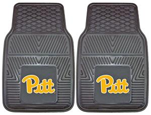 Fan Mats University of Pittsburgh 2-Piece Car Mats